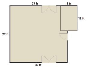 Hall floor plan
